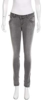 Anine Bing Low -Rise Skinny Jeans