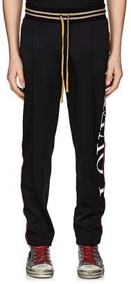 Amiri Men's Glitter-Striped Slim Track Pants