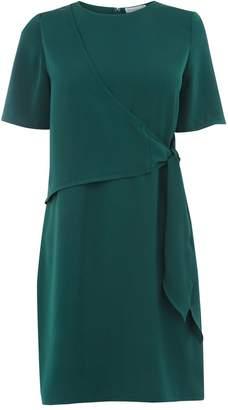 Warehouse Tie Front Dress