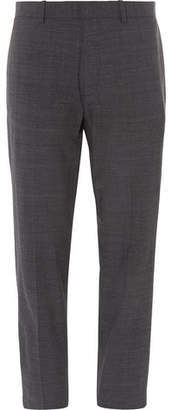 Theory Logan Mélange Stretch Wool-Blend Suit Trousers