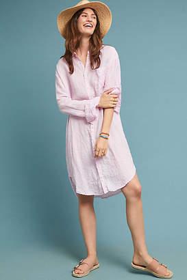 Cp Shades Oversized Linen Shirtdress