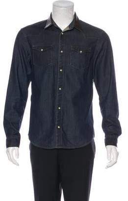 AllSaints Hilltop Denim Shirt