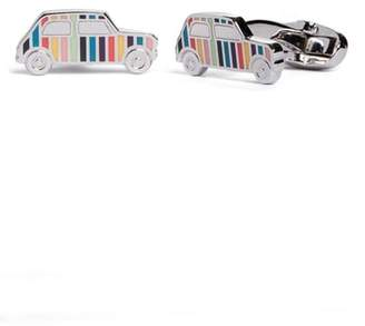 Paul Smith Enamel Stripe Car Cuff Links