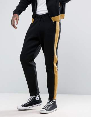 ASOS Knitted Joggers With Metallic Yarn $49 thestylecure.com