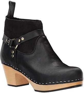 Swedish Hasbeens Women's Rivet Ankle Boot