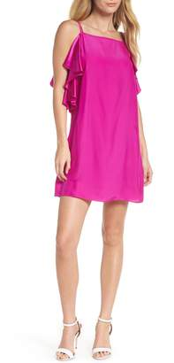 Lilly Pulitzer R) Kara Ruffle Silk Dress