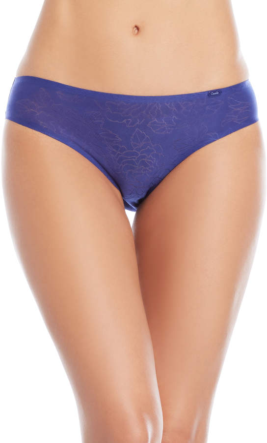 Floral Pointelle Brief Panty