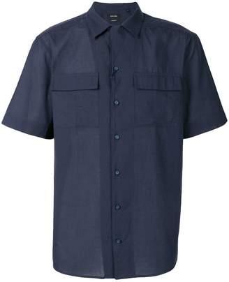 Calvin Klein slim poplin shirt