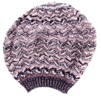 Missoni Woven Patterned Beanie