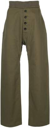 Loewe button trousers