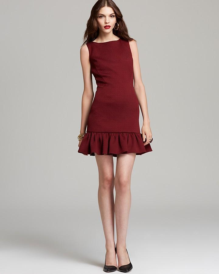 Rachel Zoe Dress - Aurora Seamed Ruffle