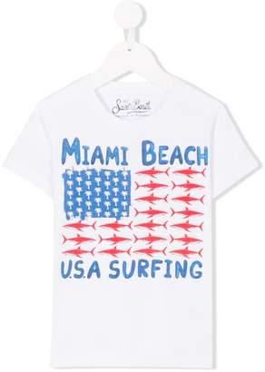MC2 Saint Barth Kids Miami Beach T-shirt
