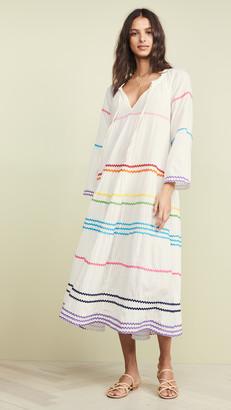 9seed Majorca Long Sleeve Maxi Dress