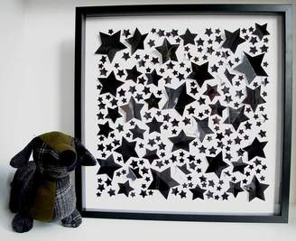 all in a square High Gloss Stars Framed Picture