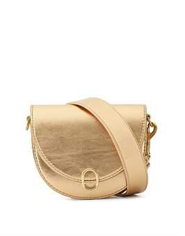 Deadly Ponies Mr Mini Woolf - Metallic Leather Strap Belt Bag