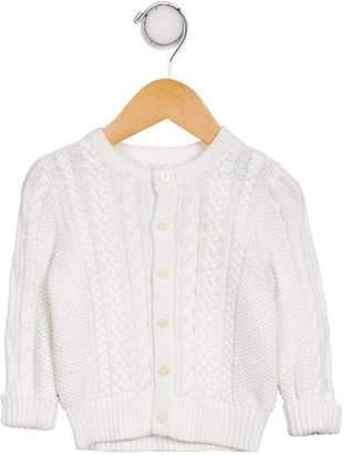 Ralph Lauren Girls' Cashmere Cable Knit Cardigan