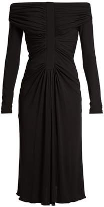 Altuzarra Imogene off-the-shoulder jersey dress