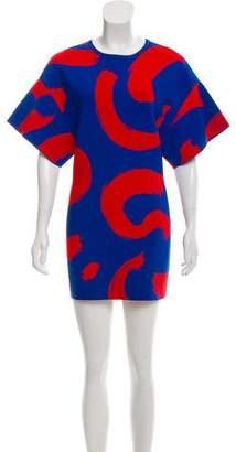 Celine Short Sleeve Mini Dress