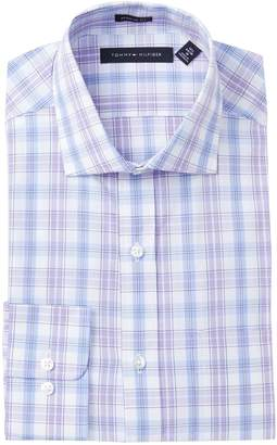 Tommy Hilfiger Check Print Regular Fit Dress Shirt