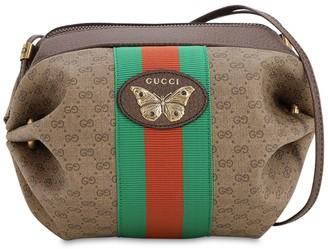 Gucci MINI GG SUPREME VINTAGE SHOULDER BAG