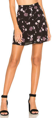 MinkPink Night Garden Mini Skirt