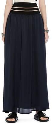 Scotch & Soda Side-Slit Maxi Skirt