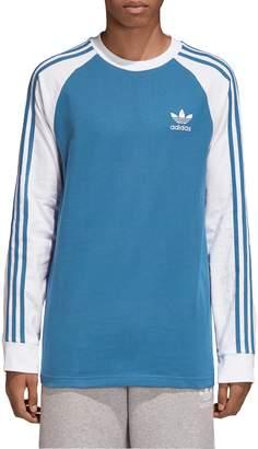 adidas 3-Stripes Long Sleeve Raglan T-Shirt