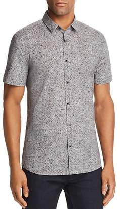 HUGO Empson Confetti Extra Slim Fit Button-Down Shirt