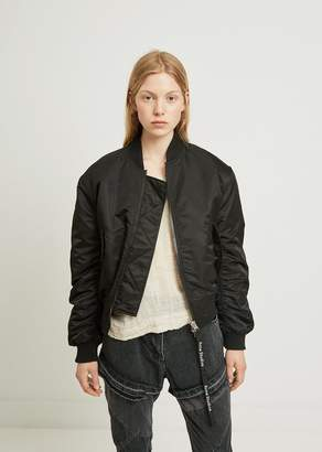 Acne Studios Clea Shirred Bomber