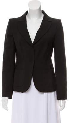 Philosophy di Alberta Ferretti Structured Notch-Lapel Blazer