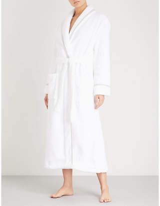 The White Company Shawl-collar hydrocotton robe