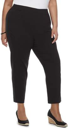 Croft & Barrow Plus Size Pull-On Ankle Pants