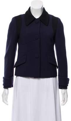 Prada Bicolor Wool Jacket