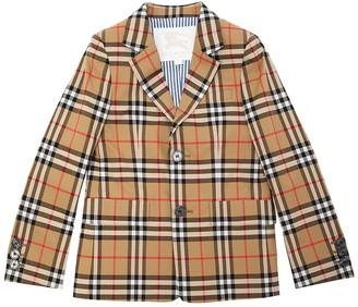 Burberry Check Cotton Jacket