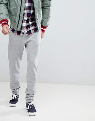 Tommy Hilfiger Slim Fit Cuffed Joggers in Gray