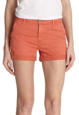 AG Jeans Stretch Cotton Shorts
