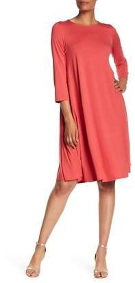 Eileen Fisher 3/4 Length Sleeve Dress