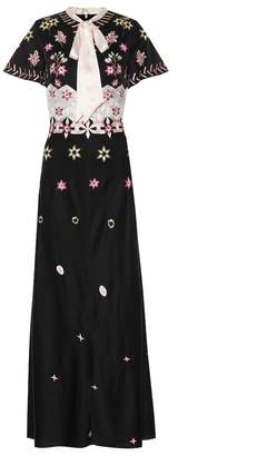 Temperley London Finale embroidered crepe dress