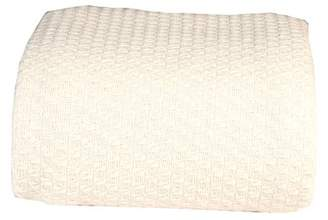 +Hotel by K-bros&Co Hotel Luxury Collection Intradeglobal Luxury Super soft Cotton Blankets, King, Ivory