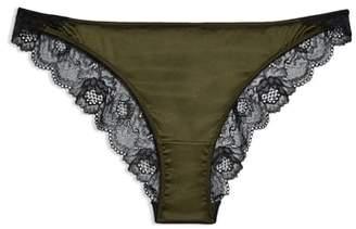 Topshop Satin Mini Knickers Panties