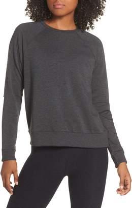 Beyond Yoga Slashes Raglan Sleeve Sweater