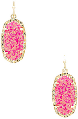 Kendra Scott Dani Earring in Metallic Gold. $130 thestylecure.com