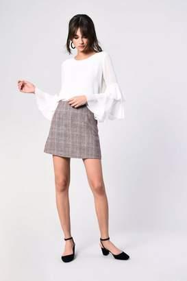 Glamorous **Check Skirt by Petites