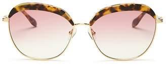 Sonix Women's Birdie Round Sunglasses, 60mm