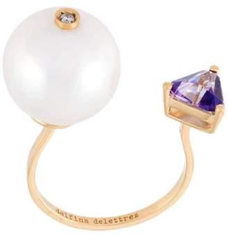 Delfina Delettrez 'Trillion' diamond ring