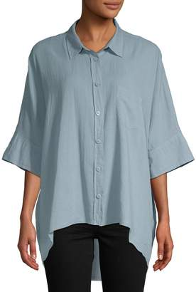 Free People Women's Best Of Me Oversized Blouse