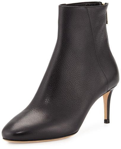 Jimmy ChooJimmy Choo Duke Grained Leather 65mm Boot, Black