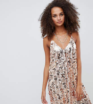 Kiss The Sky luxe sequin cami dress