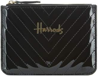 Harrods Christie Chevron Coin Purse