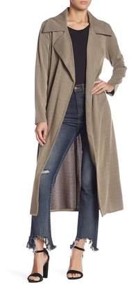 June & Hudson Long Sleeve Trench Coat